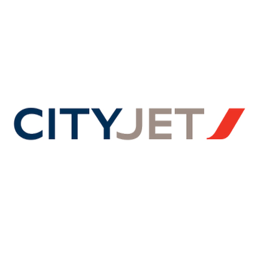 City jet logo fin original